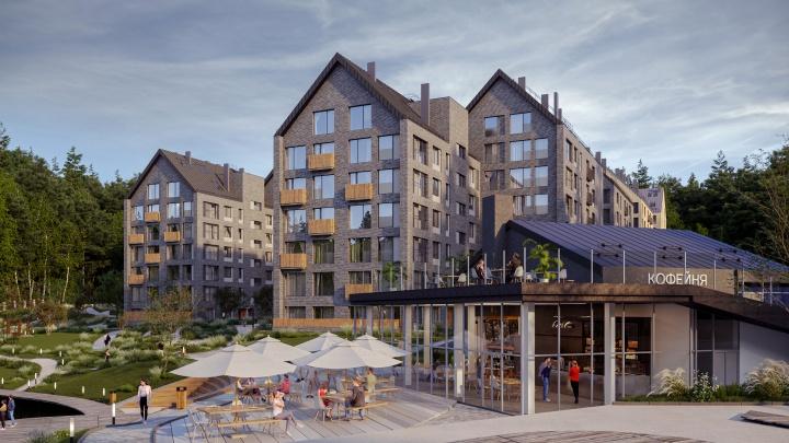 Экоквартал Akadem Klubb: стартовали продажи квартир в Академгородке с видом на лесное озеро и каминами