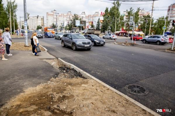 Подрядчик второй раз сорвал срок ремонта проспекта Машиностроителей в Ярославле