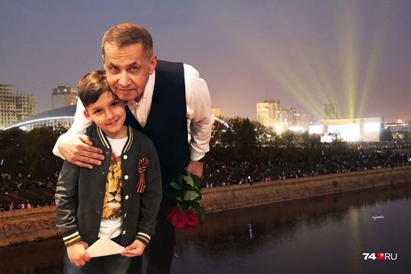 11-летний Миша побывал на концерте своего кумира и смог передать ему небольшой подарок