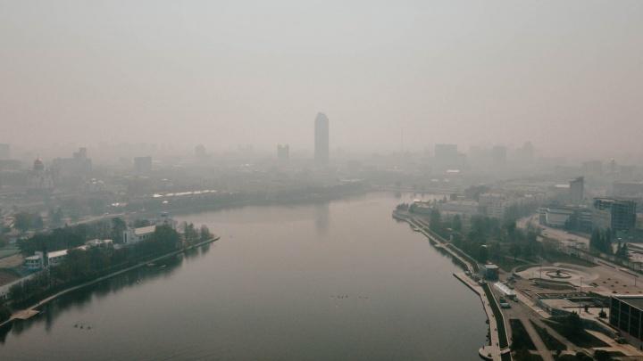 Над Екатеринбургом до следующей недели нависнет смог