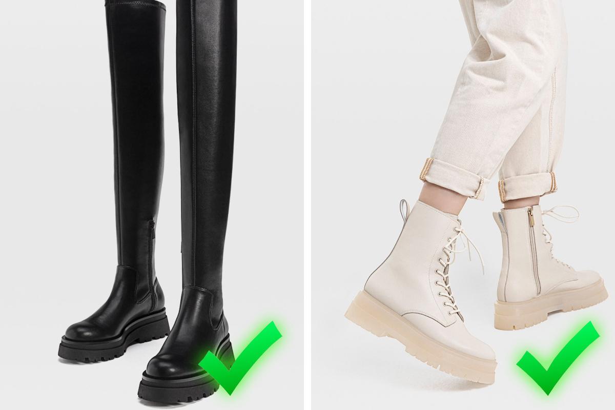 Выбирайте обувь в тон низу — так ноги будут выглядеть длиннее