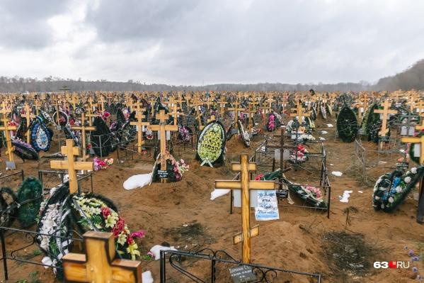 Места на существующих кладбищах закончатся через 5 лет