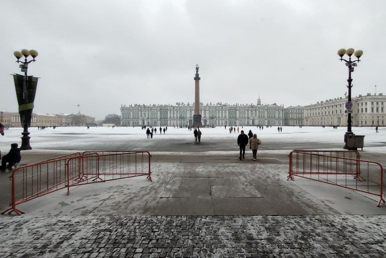 Дворцовая площадь<br><br>автор фото Михаил Огнев / «Фонтанка.ру»