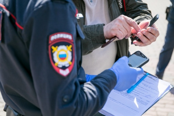 Преступницу задержали полицейские