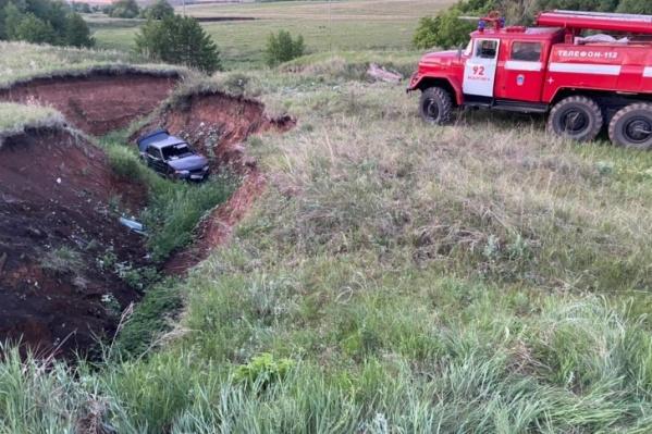 В аварии пострадали все, кроме водителя