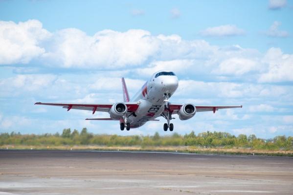 Самолеты Red Wings начали летать из Перми по новым маршрутам