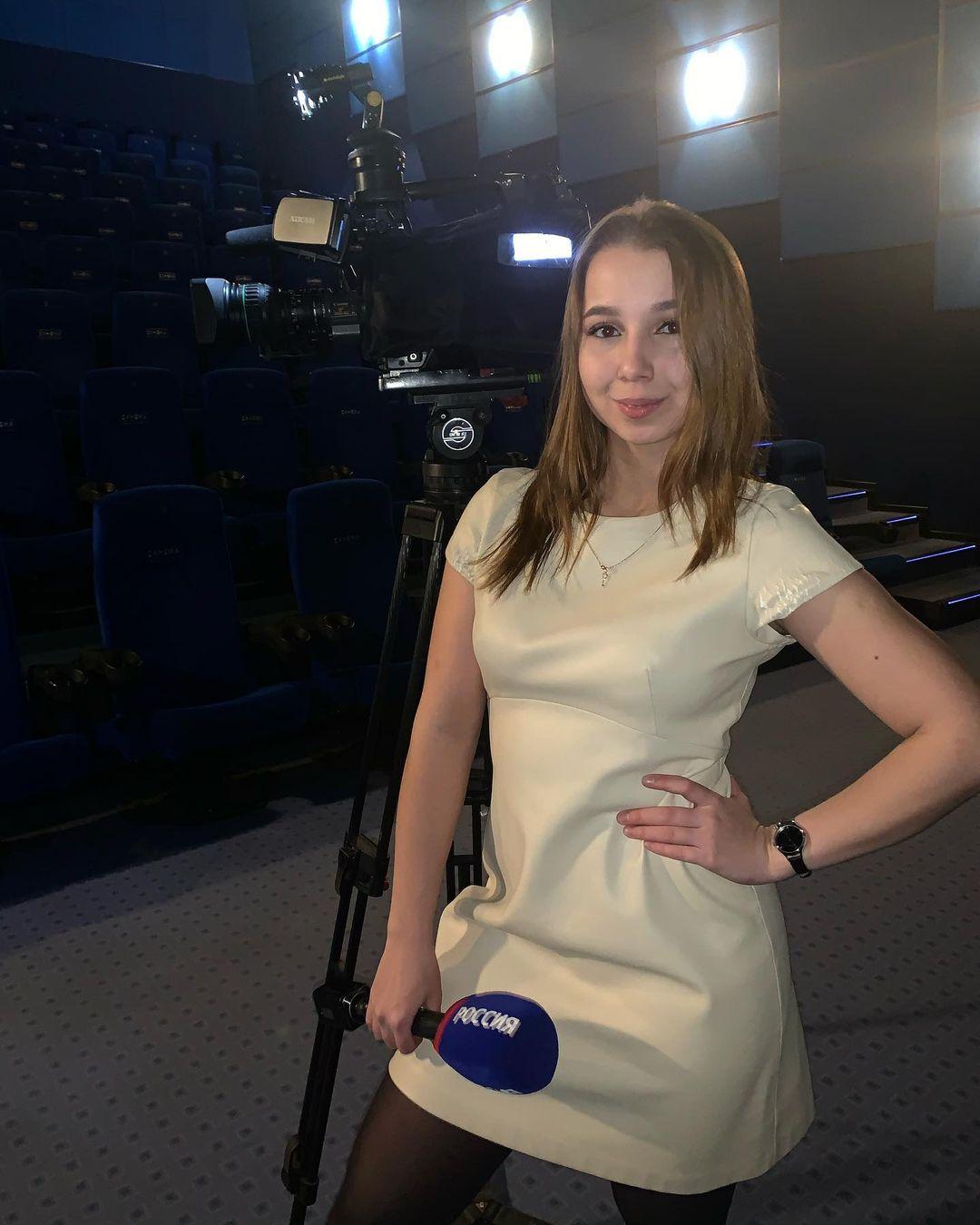 Журналистка гордится своей работой на ТВ