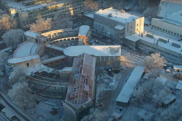 Фабрику-кухню отдадут под Третьяковку, сквер должен стать украшением