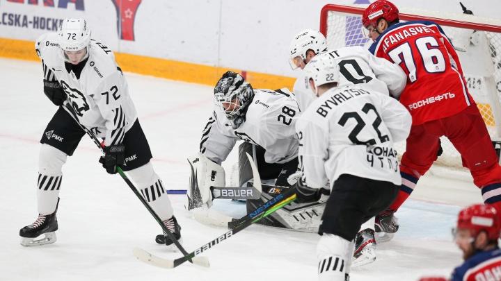 «Трактор» впервые с 2013года обыграл ЦСКА в Москве