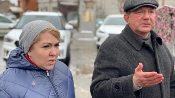 Ирина Гусева пообещала помочь с канализацией жителям поселка Забазного