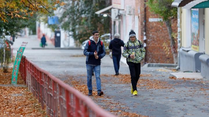 Последнее тепло выдует: смотрим погоду в Волгограде на остаток рабочей недели
