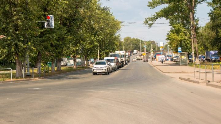 На 16 улицах Самары ограничат скорость движения авто до 40 км/ч