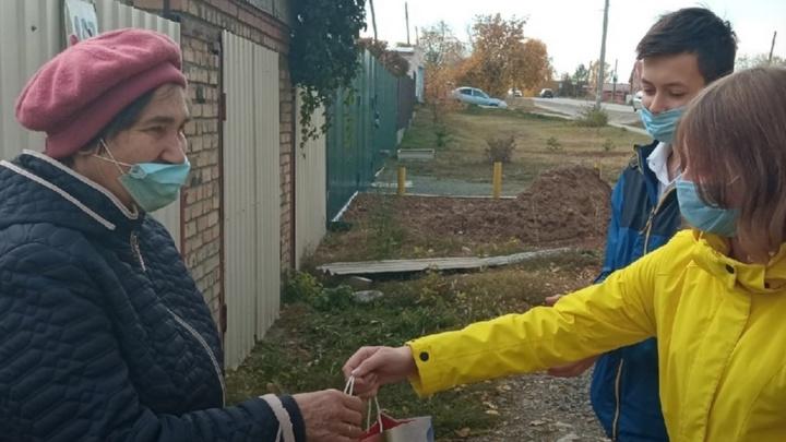 Ушедшим на самоизоляцию южноуральским пенсионерам с доставкой продуктов и лекарств помогут волонтеры