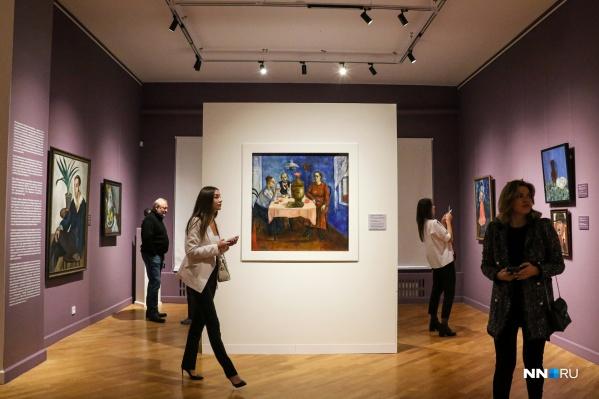 Вернисаж собрал любителей искусства из Нижнего Новгорода и других городов