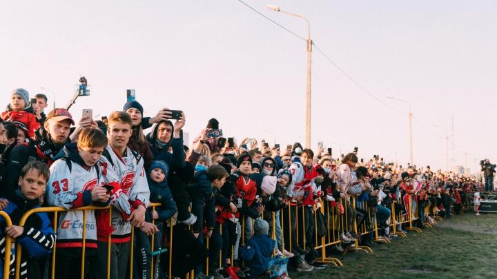 На праздник в честь «Авангарда» пришли 20 тысяч омичей