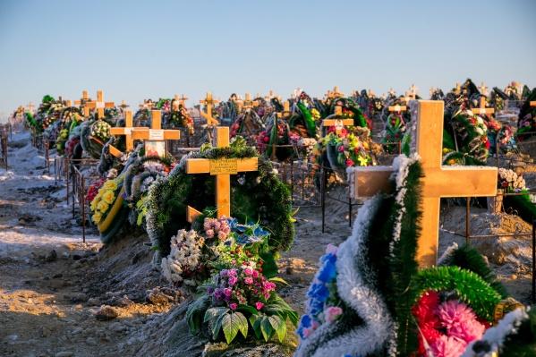 На сегодня в Красноярске 8 кладбищ