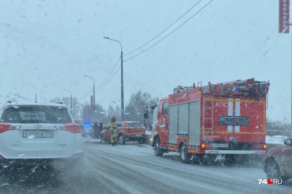 Авария случилась недалеко от поселка «Благодатово»