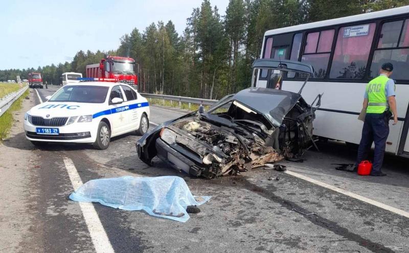 Прокуратура Поморья начала проверку после смертельной аварии на трассе М-8 в Приморском районе