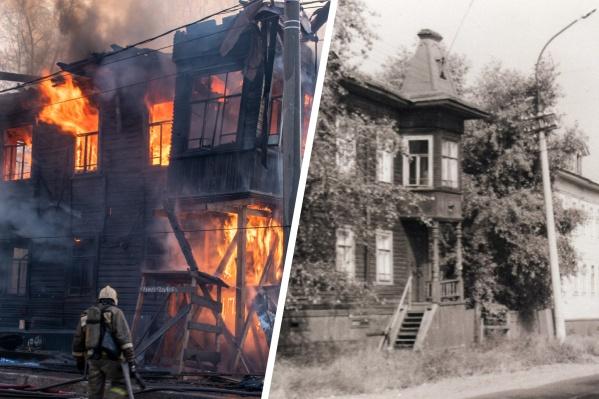 1 мая в городе сгорел еще один памятник культурного наследия, который и до пожара был в плачевном состоянии