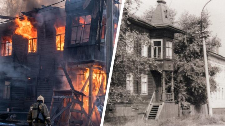 Прощай, северный модерн: чем ценен сгоревший Дом Брагина с золотой табличкой и как его тушили