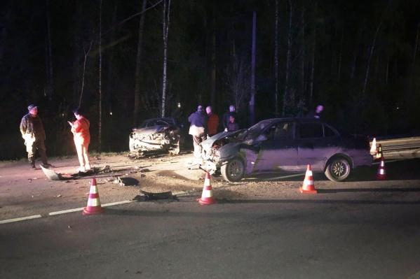 Машины получили серьезные механические повреждения