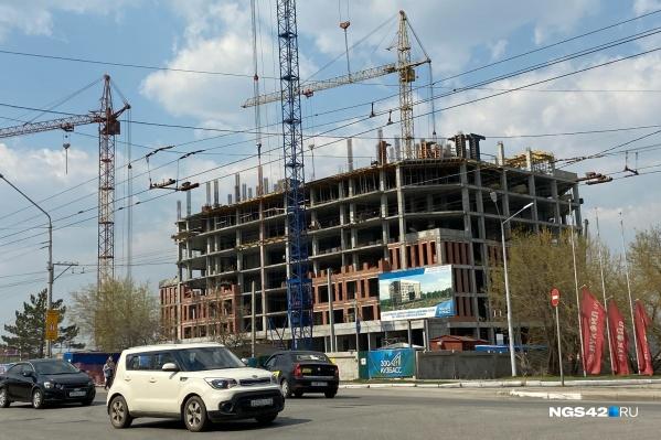 """Новое здание будет девятиэтажным с общей площадью чуть больше <nobr class=""""_"""">14 тысяч</nobr> квадратных метров"""