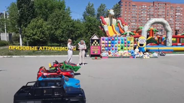 Здравый смысл победил: с площади у входа в парк Маяковского исчезнут машинки и призовые аттракционы