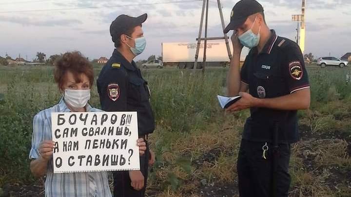 Под Волгоградом 74-летнюю защитницу Волго-Ахтубинской поймы оштрафовали на 150 тысяч рублей