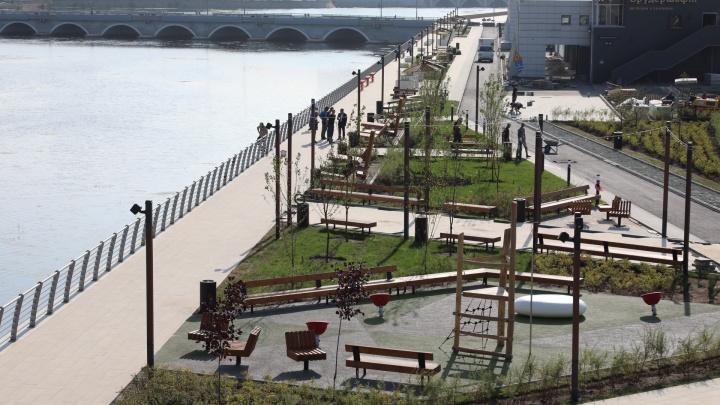 Наталья Котова поручила решить вопрос со светофором возле новой набережной в центре Челябинска