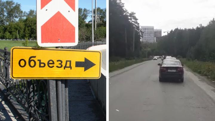 Как объехать царь-пробку на пути в Кольцово: екатеринбургские водители нашли альтернативный путь