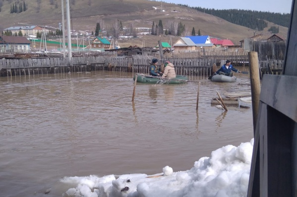 В селе Ассы затопило 19 домов