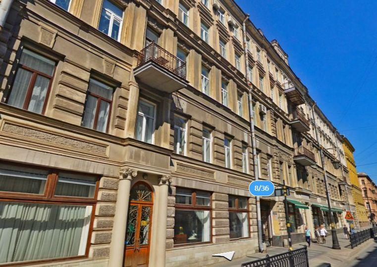 Пестеля, 8<br><br>скриншот с сайта «Яндекс.Карты»