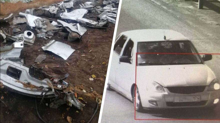 Водитель, насмерть сбивший пешехода под Челябинском, уехал с места ДТП, распилил и закопал машину