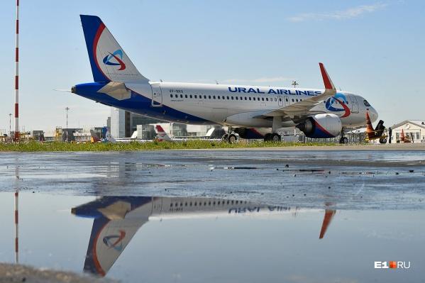 «Уральские авиалинии» будут летать из Екатеринбурга в Венгрию раз в неделю