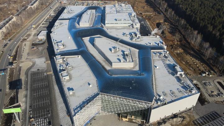 Стало известно, когда откроется новый гигантский торговый центр в Екатеринбурге