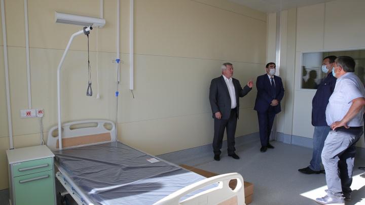 Донские власти и сами не знают, когда новая инфекционная больница примет пациентов