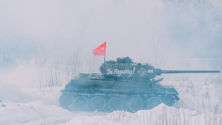В Омске ищут площадку для открытой выставки военной техники