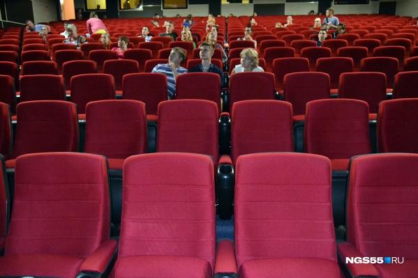 В первый день работы после карантина кинотеатры заработали полмиллиона рублей