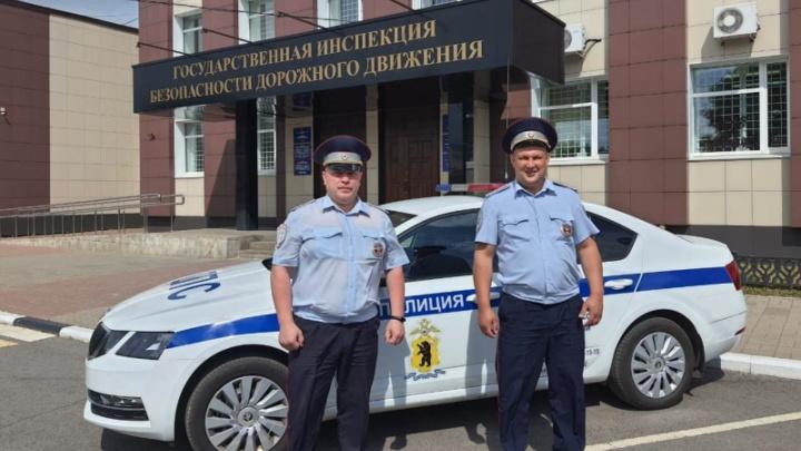 «Подбежала вся в слезах»: в Ярославле сотрудники ДПС помогли женщине, которую укусила змея