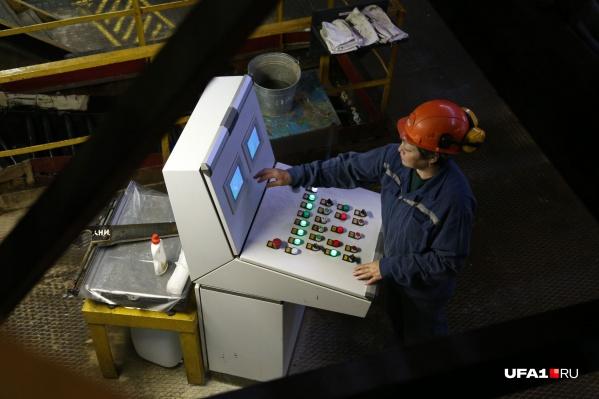 В Уфе больше сотни крупных промышленных предприятий