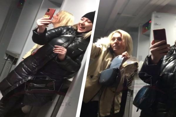 Пьяные женщины устроили скандал
