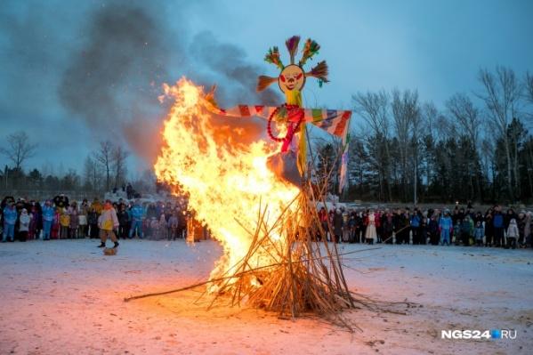Вариантов застать сожжение чучела в этом году совсем мало