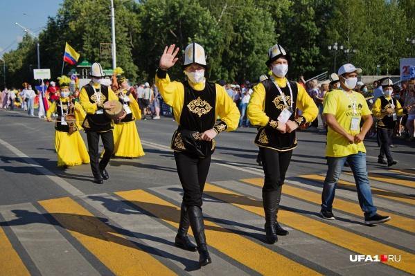 «Бразильский карнавал» прошел в Уфе 4 июля