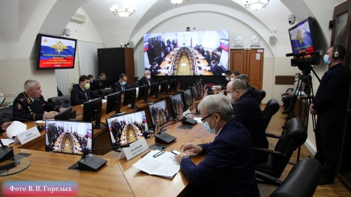 Свердловские полицейские раскрыли в 2020 году больше 30 тысяч преступлений