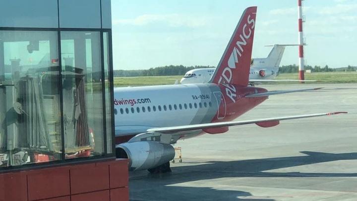 В Челябинске на несколько часов задерживается вылет «Суперджета» в Махачкалу