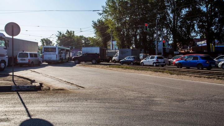 В Новосибирске хотят на неделю запретить ночное движение по участку Станционной