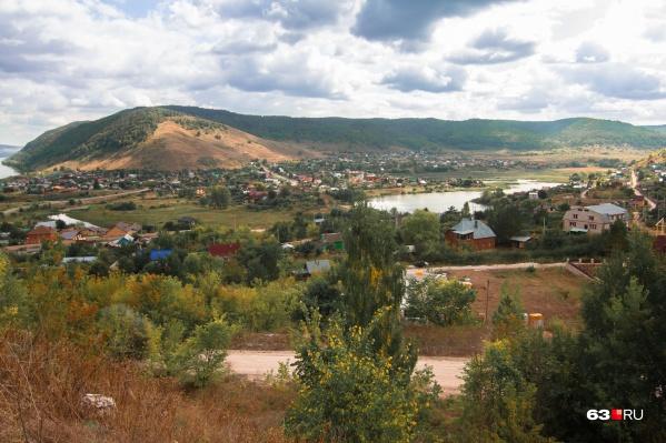 Ширяево находится в живописнейшем месте «Самарской Луки»
