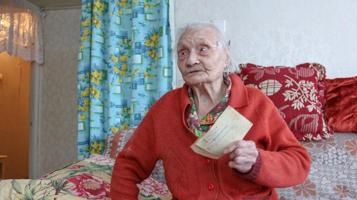"""103-летняя героиня Сталинграда: «Мне говорят: """"У тебя ж соцработник есть, зачем сама ходишь?""""»"""
