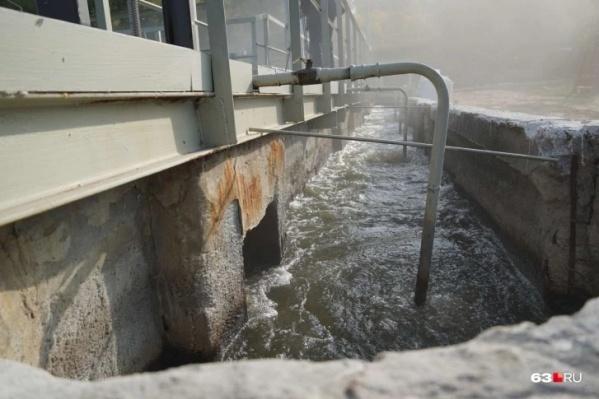 Подобный комплекс очистки воды работает в Жигулевске