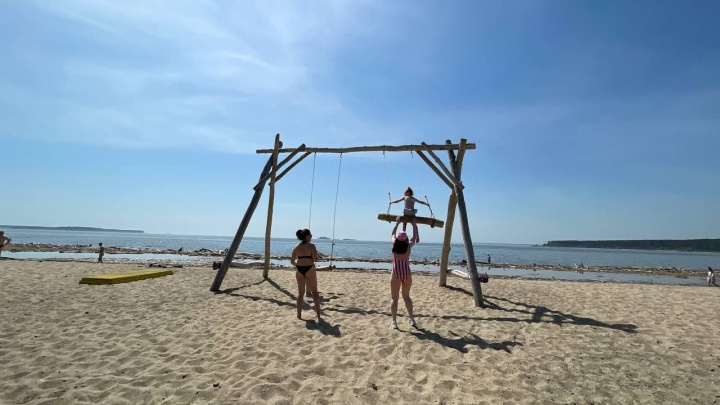 Центральный пляж Академгородка в этом году не откроется